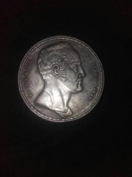 Монета 1722-1723 год 1 рубль - IMG_7786.JPG