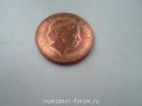 Английский пенни - SAM_0984.JPG